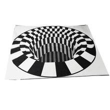 3D скандинавский простой ковер с принтом для спальни офиса Хрустальный бархатный коврик журнальный столик для гостиной коврик