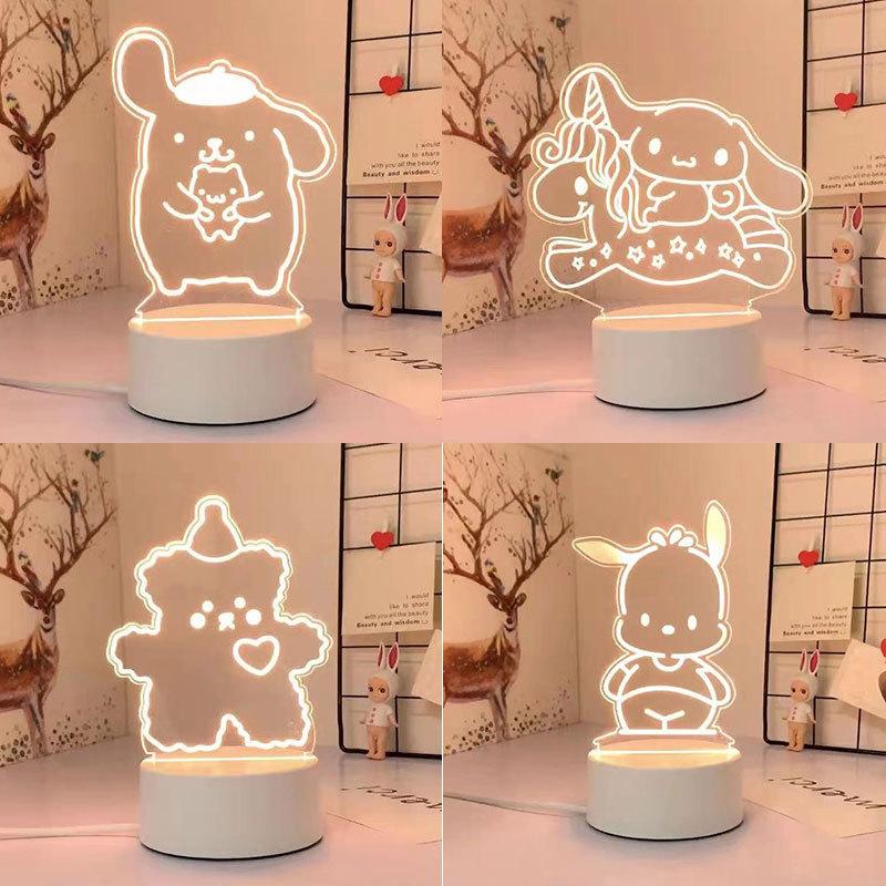 Kawaii Sanrio 3D Night Light/Lamp