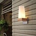 Современный минималистичный японский стиль LED настенная лампа из цельной древесины для прикроватной тумбочки для учебы фоновая настенная ...
