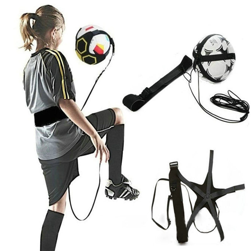 Football Training Device Soccer Ball Secondary School Students Tool Practice Goal Trainer Equipment Skills Improvement Strap