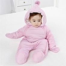 2020 Spring Baby Girls Romper Warm Winter Kids Boy Jumpsuit Clothes Autumn Fleece Infant Onesies Unisex Newborn Overalls