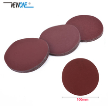 """NEWONE """" 100 мм 10 шт./компл. наждачная бумага песка польский диски несколько размеров Грит 1500/2000/3000/5000/7000"""