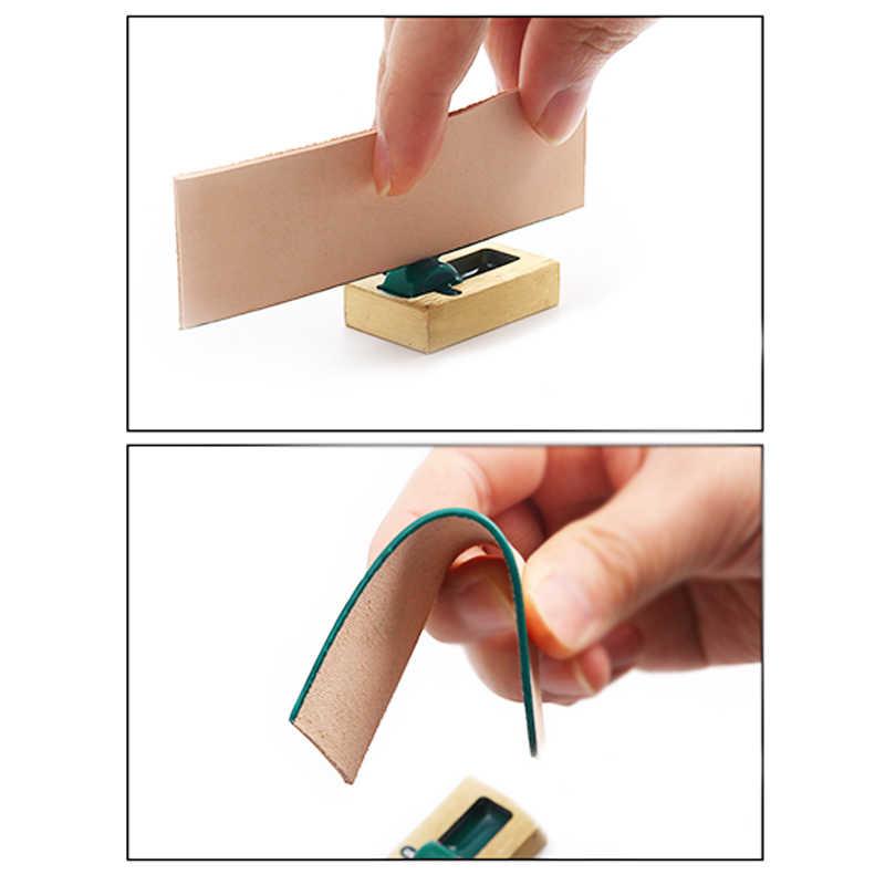 Cuero de cobre puro artesanía borde tinte aceite artesanía tallado herramienta cuero borde pintura costura artesanía DIY cuero borde tinte aceite rodillo
