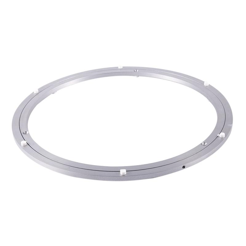 Aluminium Rotating Turntable Bearing Swivel Plate 18 Inch Silver|Swivel Plates|   -