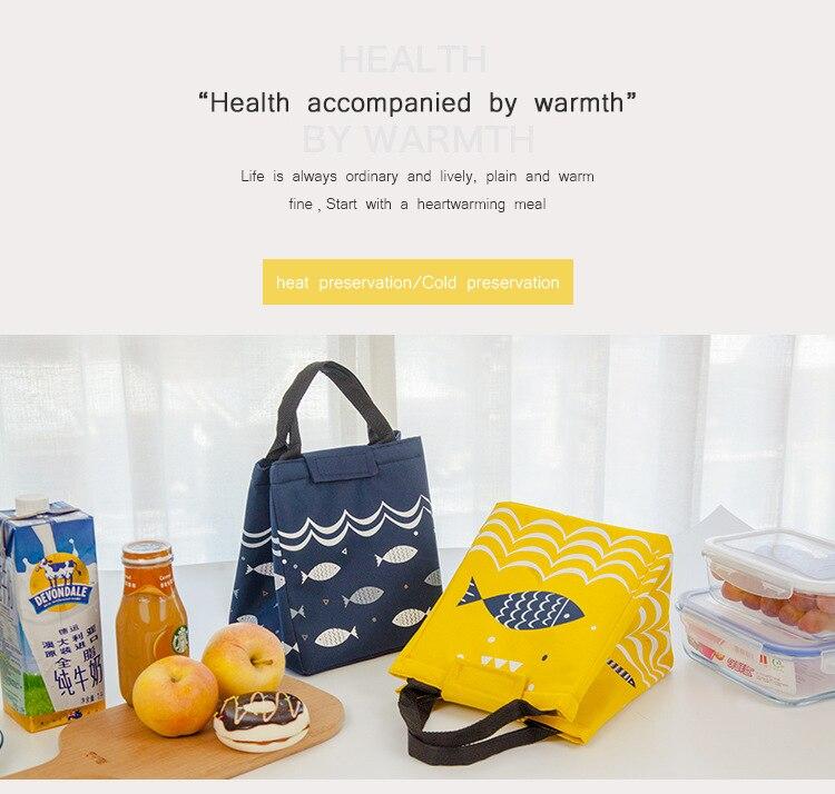 isolamento saco de almoço portátil