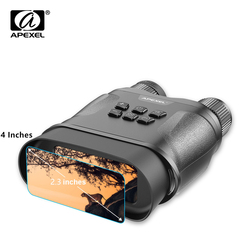 APEXEL Waterproof Infrared Digital Night Vision Device Widescreen Hunting Optics Sight Video Photography Night Binoculars Camera