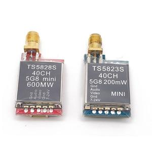 Image 2 - TS5823S 200mw TS5828S 600mw 5.8 グラム 40Ch fpvオーディオビデオマイクロ送信ミニfpv quadcopterドローン