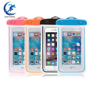 Swimming-Bags Pouch Phone-Case Waterproof-Bag with Luminous Underwater for 6/6s/7/..