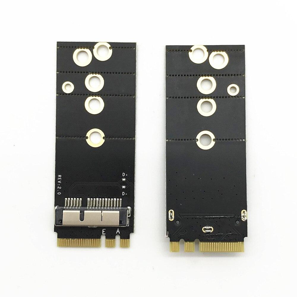 Bcm94360cs2 bcm943224pciebt2 bcm94331csax bcm94331cd bcm94360cs bcm943602cs cartão sem fio para ngff m.2 chave a/e adaptador para mac os