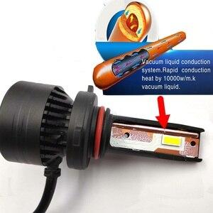 Image 3 - 90W 10000LM F3 H4 H7 H8 H11 h13 Car LED Headlights Bulb Fog Light H7 H11 H8 9005 9006 H1 880 Car LED Headlamp Kit