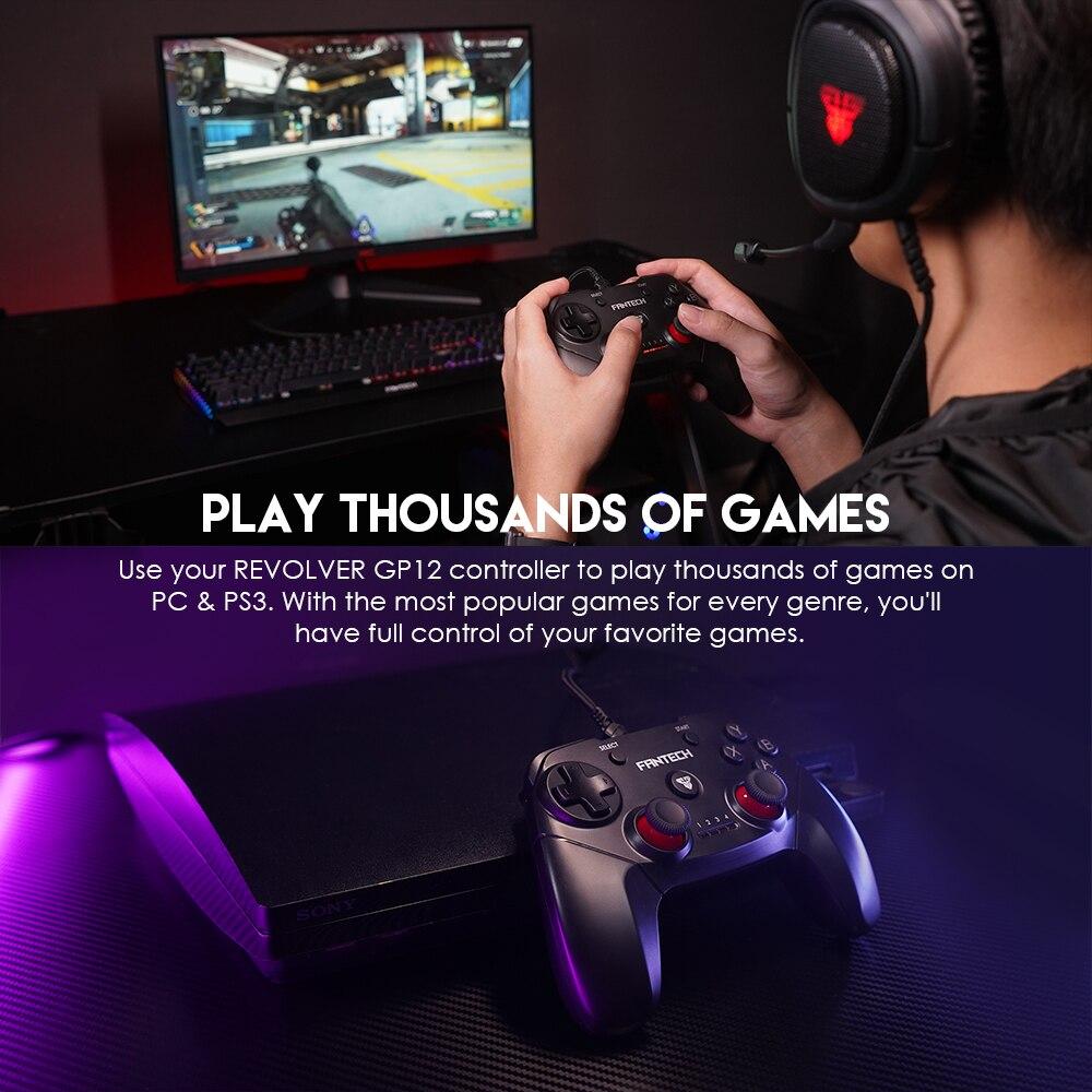 Fantech GP12 Revolver Gaming Controller 10