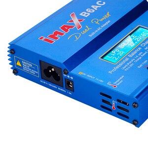 Image 5 - IMAX B6 AC 80 ワット B6AC RC 充電器 6A デュアルチャンネルバランス充電器リチウムイオンニッケル水素ニッカドリポバッテリーデジタル液晶画面放電器