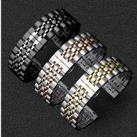 Edelstahl Band für Samsung Galaxy uhr 46mm strap Getriebe S3 Frontier band 22mm armband Huawei uhr GT 2 strap Getriebe S 3 46 Uhrenbänder Uhren -