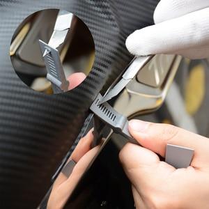 Image 5 - FOSHIO Vinyl Wrap Car Accessories Tools Set Carbon Fiber Squeegee Glass Window Tint Film Adsorption Sheet Magnet Holder Fix Tool