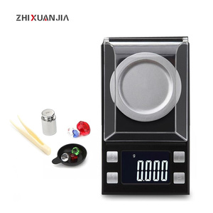 500g/100g/50g/20g/10g 0.001g/0.01g Digital Scales Electronic balance Scales Jewelry Medicinal Lab Weight Milligram pocket Scale(China)