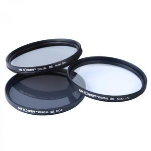 Image 2 - K&F CONCEPT 3pcs 72mm ND UV CPL Filter Sets Filter Pouch Bags Camera