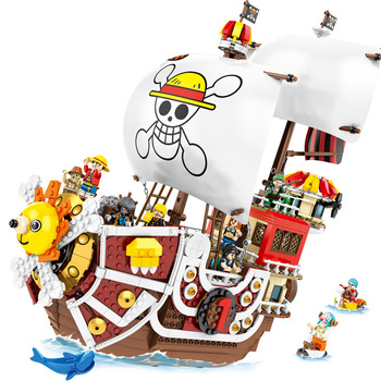 1484PCS Blocks SY6298 3D2Y THOUSAND SUNNY Pirate Ship Building Blocks Figure Bricks Assembly Toys for Kids Christmas Gift anime one piece thousand sunny pirate ship figure 35cm thousand sunny boat ship pvc action figures toys collectible model toy