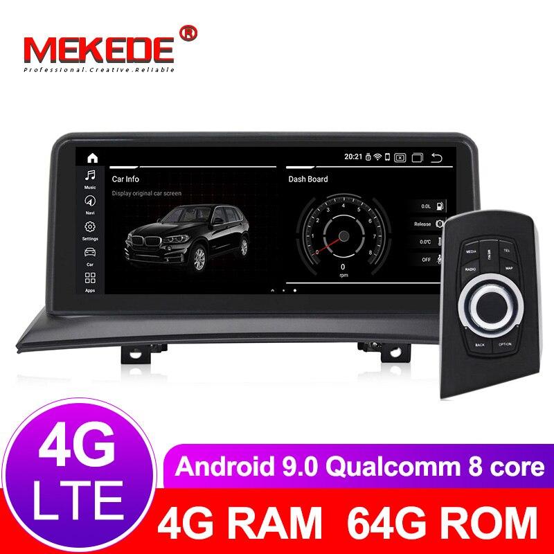 Núcleos 8 64 4G + G android Leitor multimédia 9.0 Carro de Navegação GPS jogador para BMW X3 E83 2004 para 2010 Original do carro sem tela