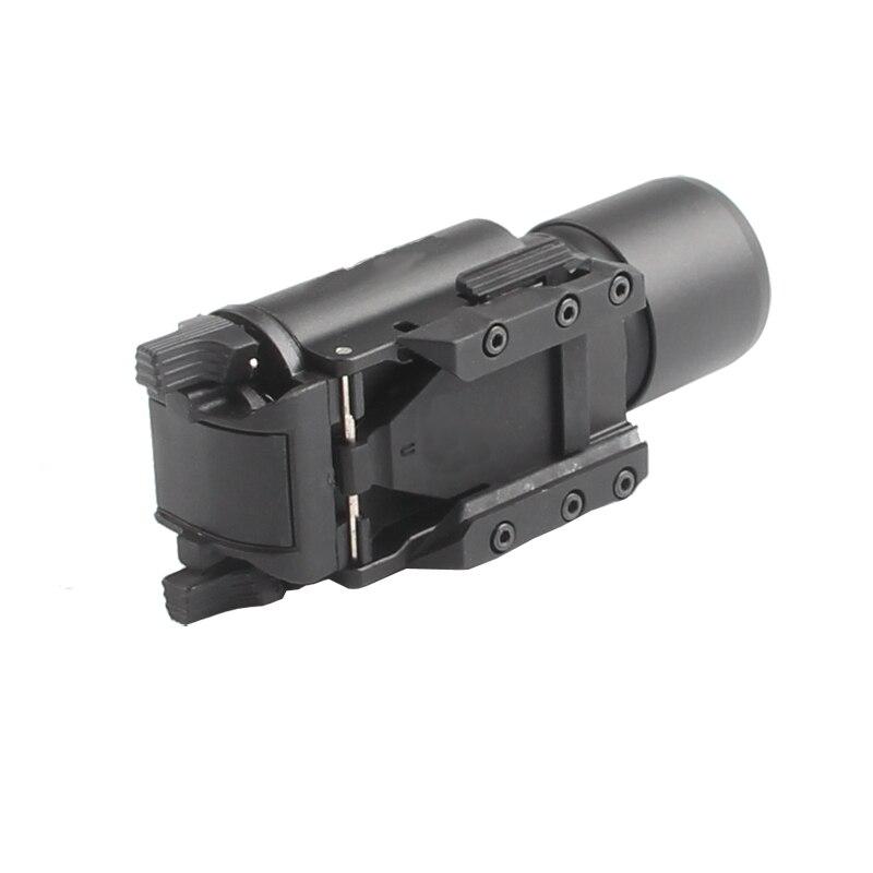 Tático Lanterna de Alumínio Lanterna Glock Pistol
