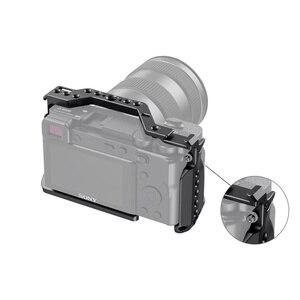 """Image 4 - Petite Cage de tir Vlog A6600 pour Sony A6600 Cage de caméra avec support de chaussure froide/ARRI 3/8 """" 16 filetage accessoire 2493"""