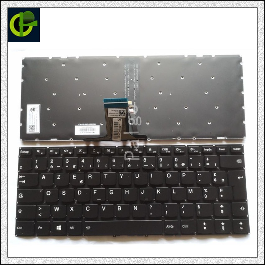 French Backlit Keyboard For Lenovo Yoga 510 510-14ast 510-14isk 510-14ikb 710-14isk 710 14 15 710-14ikb 710-15isk 710-15ikb FR