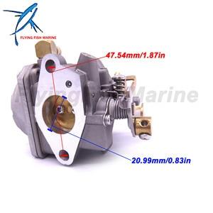 Image 4 - Outboard Engine 13200 91J70 13200 91JB1 13200 91JC0  13200 91J81 Carburetor Carb Assy for Suzuki Boat Motor DF4 DF6 4 Stroke