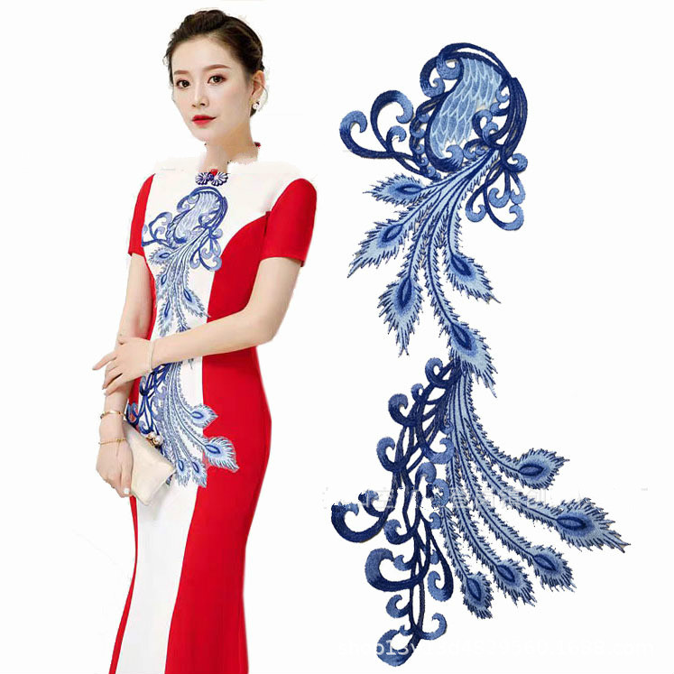 The New Peacock Cloth Four Seasons Embroidery Lace