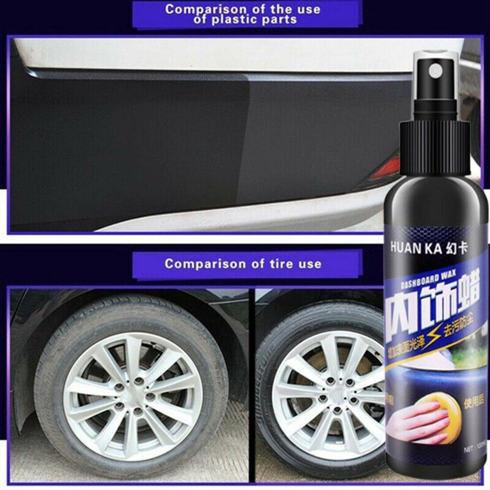 Image 5 - Car Care Interior Polish Leather Seat Sofa Panel Dashboard Tire Cleaner Kit-in Paint Cleaner from Automobiles & Motorcycles
