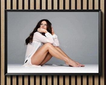 D1192 Kate Beckinsale Star Sexy Beautiful Girl Model Silk Fabric Poster Art Decor Indoor Painting Gift