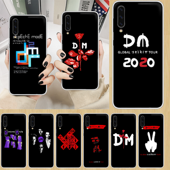 Depeches mode band DM Phone Case hull For SamSung Galaxy note A 5 7 8 9 20 30 40 50 51 60 70 71 80 2017 18 E transparent image