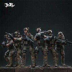 JOYTOY 1/18 US Navy Seal Commando Mini soldado de acción juguete 6 uds figuras JTDS008