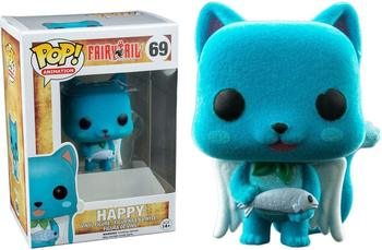 Exclusive Funko pop Official Amine: Fairy Tale - Happy Flocked Vinyl Action Figure Collectible Model Toy with Original Box