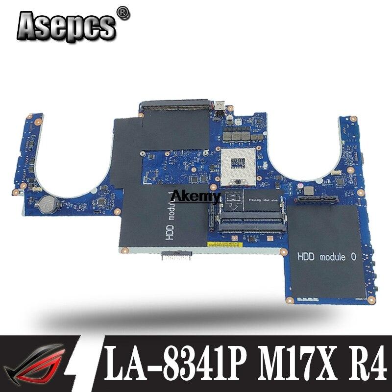 LA 8341P Laptop motherboard for Dell Alienware M17X R4 original mainboard 100%Test|Motherboards| |  - title=