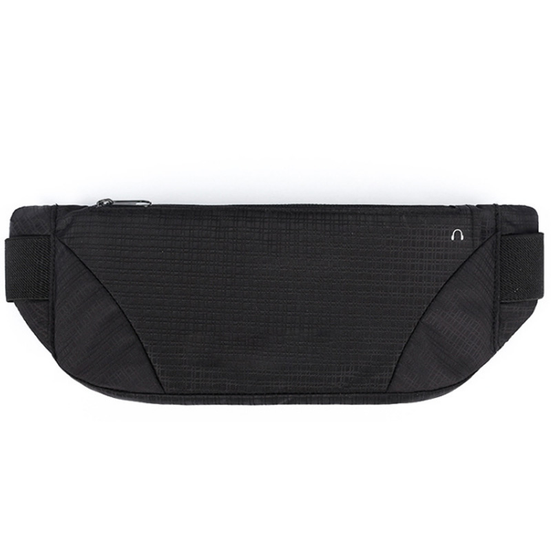 Fanny Pack Waterproof Money Belt Bag Men Purse Teenager'S Travel Sports Wallet Belt Male Waist Bags Cigarette Case For Phone,Bla