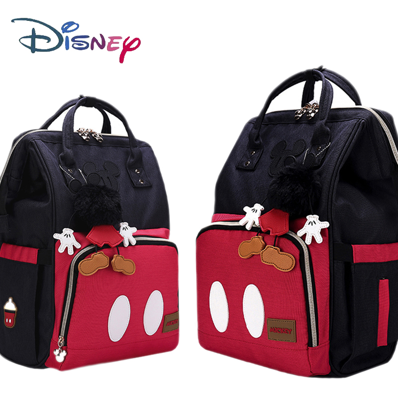 Disney 3D Doll Mummy Maternity Nappy Bag Backpack Large Capacity Baby Bag Stroller Diaper Bag For Baby Care Insulation Bags New