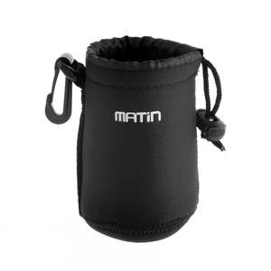 Pouch Case Camera-Lens Waterproof Neoprene Bag Matin Soft Belt-Loop 3mm Roughly Worldwide