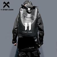 11 BYBB'S DARK Hip Hop Waterproof Backpack Men PU Multi function School Computer Shoulder Bags Male Big Capacity Backpack Men|Backpacks| |  -