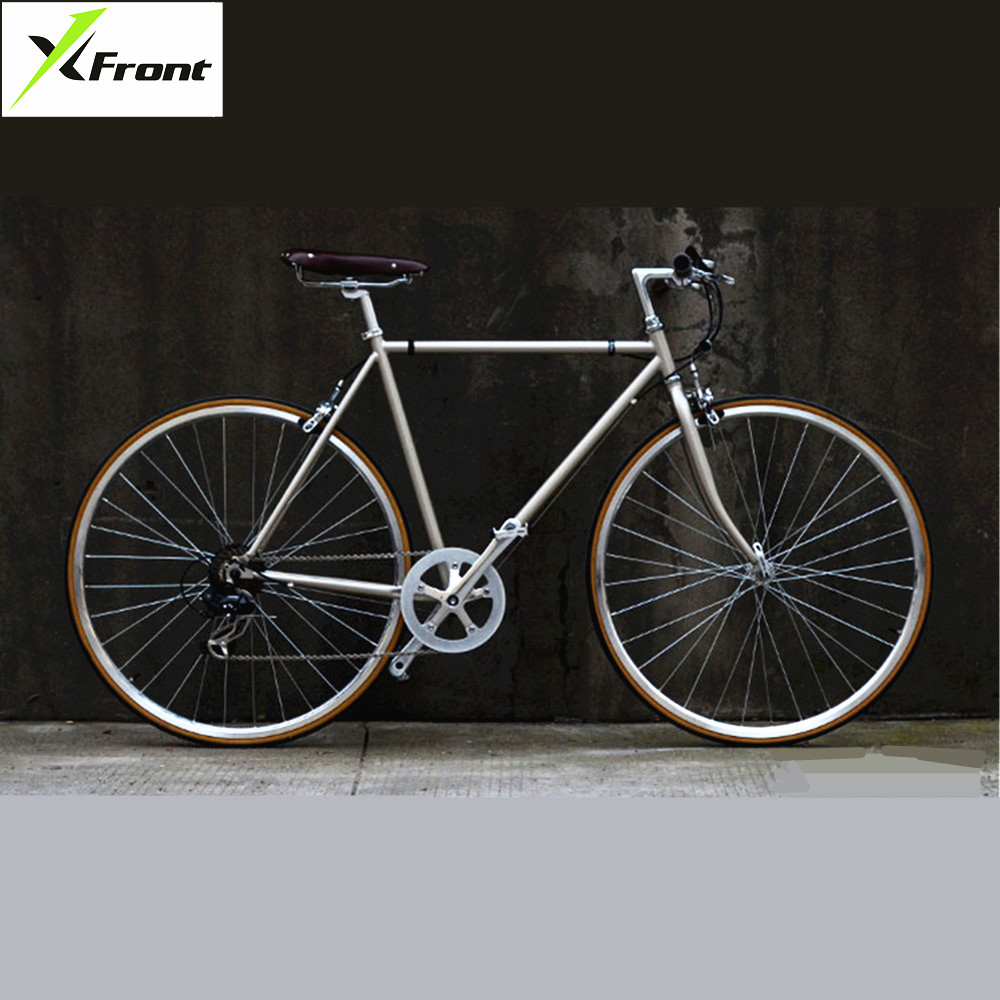 Retro Road Bike Aluminum Alloy Frame SHIMAN0 7 Speed 700CC City Sports Bicicleta Classic Bicycle