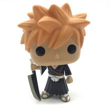 Original Bleach Ichigo Vinyl Figure model toy Action Figure Collection Model toys for Gift no box oenux original savage wild animal wolf action figure gray wolf beast wolves model figurine pvc high quality collection toys gift