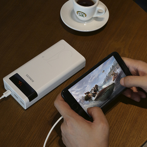 повербанк 30000 мАч ROMOSS Sense 8P+ power Bank портативный внешний аккумулятор с PD Двусторонняя Быстрая зарядка портативный Внешние аккумуляторы      АлиЭкспресс