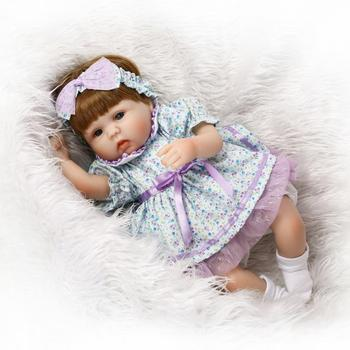 AliExpress Hot Selling Model Infant Doll Christmas Holiday Gift Marriage Presses Doll Cute