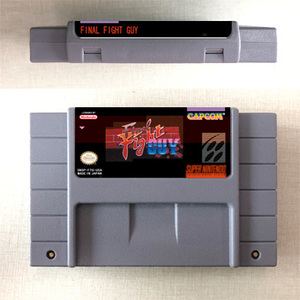 Image 4 - Final Fight or Final Fight 2 or Final Fight 3 or Final Fight GUY  Action Game Card US Version English Language