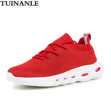 TUINANLE Womens Shoes Breathable Mesh Fashion Chunky Sneaker