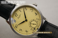 Reloj Mecánico de lujo para hombre, correa de acero inoxidable, zafiro, resistente al agua, Reloj Retro Simple, 6498, China