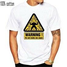 2020 nouveauté Hommes Mode Warnng Je Devenir EN COLERE DROLE Tee-shirt Imprime D'adulte Impression T-shirts