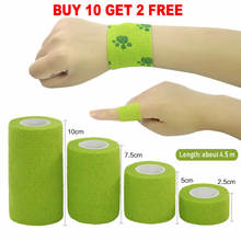 1Pcs Waterproof Medical Therapy Self Adhesive Bandage Muscle Tape Finger Joints Wrap First Aid Kit Pet Elastic Bandage 2.5-15cm(China)