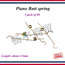 Piano tuning accessories Piano Butt spring 1 pack of 88 Leng