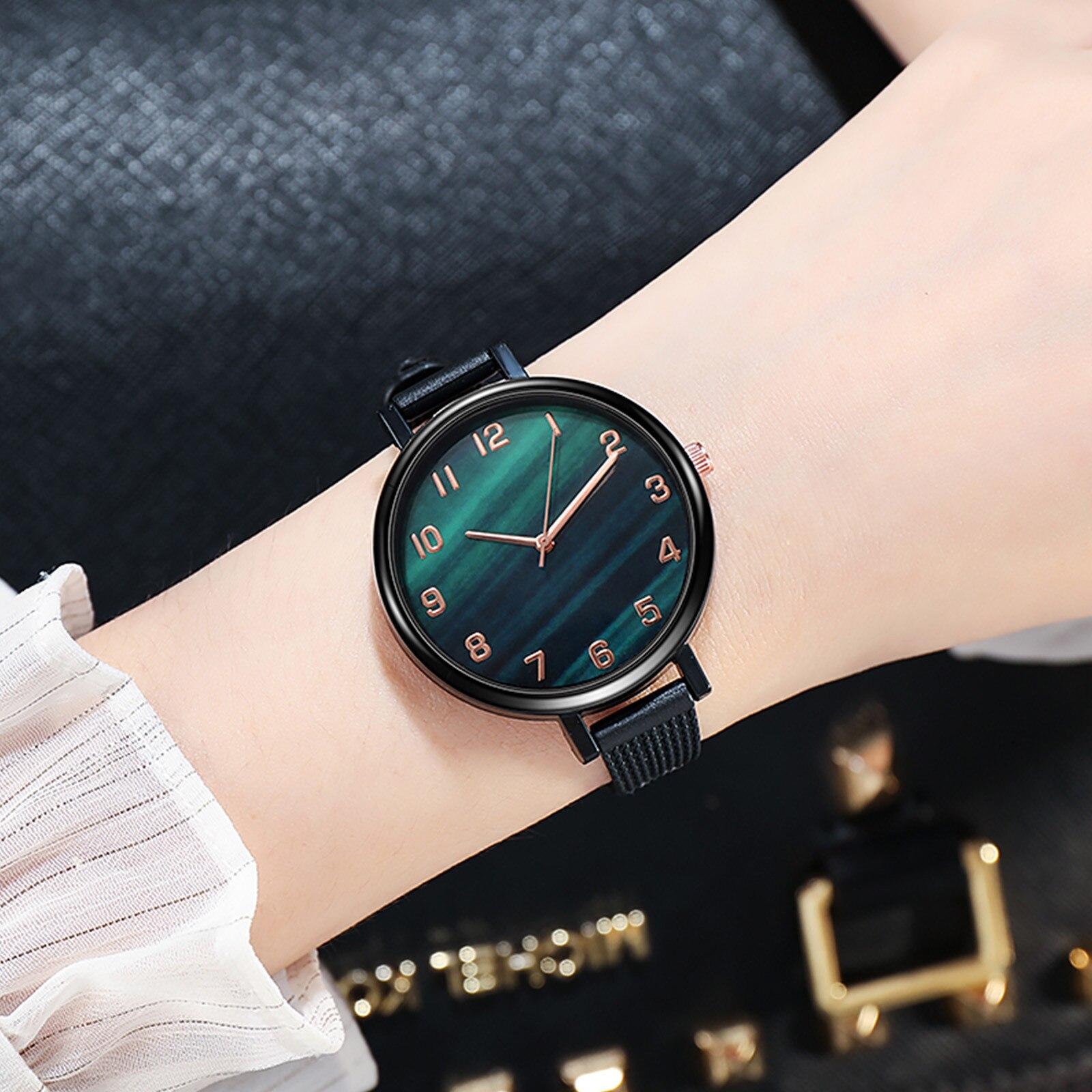 reloj mujer роскошь женские часы нержавеющая сталь кварц наручные часы 2020 большой элегантный повседневный женские часы баян кол саати