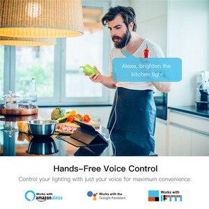 Image 2 - Luz WiFi inteligente LED de bricolaje regulador de intensidad Smart Life/Tuya Control de aplicación remota interruptor de 1/2 vías, funciona con Alexa Echo Google Home