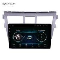 Harfey 9 inch Android 8.1 2din car GPS Radio For 2007 2012 Toyota VIOS Support TPM DVR Bluetooth USB 3G WiFi Remote Control